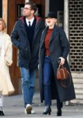 Emma Stone and Dave McCary spotted while out on a movie date in New York City