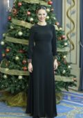 Eva Gonzalez at TVE Christmas Season Presentation at Royal Theatre in Madrid, Spain