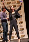 Gal Gadot at the 'Justice League' panel during the ACE Comic Con in Long Island, New York City