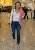 Georgia Toffolo arrives back to London after winning 'I'm a Celebrity Get Me Out Of Here' in Australia
