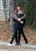 Hailey Baldwin and Shawn Mendes packs on the PDA while out in Toronto, Canada