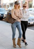 Heather Locklear and daughter Ava Sambora head off to grab some breakfast in Beverly Hills, Los Angeles