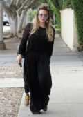 Hilary Duff out for some more shopping ahead of Christmas in Los Angeles