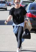 Hilary Duff out for some shopping in Studio City, Los Angeles