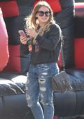 Hilary Duff spends a day out with her son in Studio City, Los Angeles