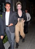 Ireland Baldwin arriving at SUR restaurant in West Hollywood, Los Angeles