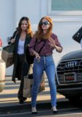 Isla Fisher out on a shopping spree in Beverly Hills, Los Angeles