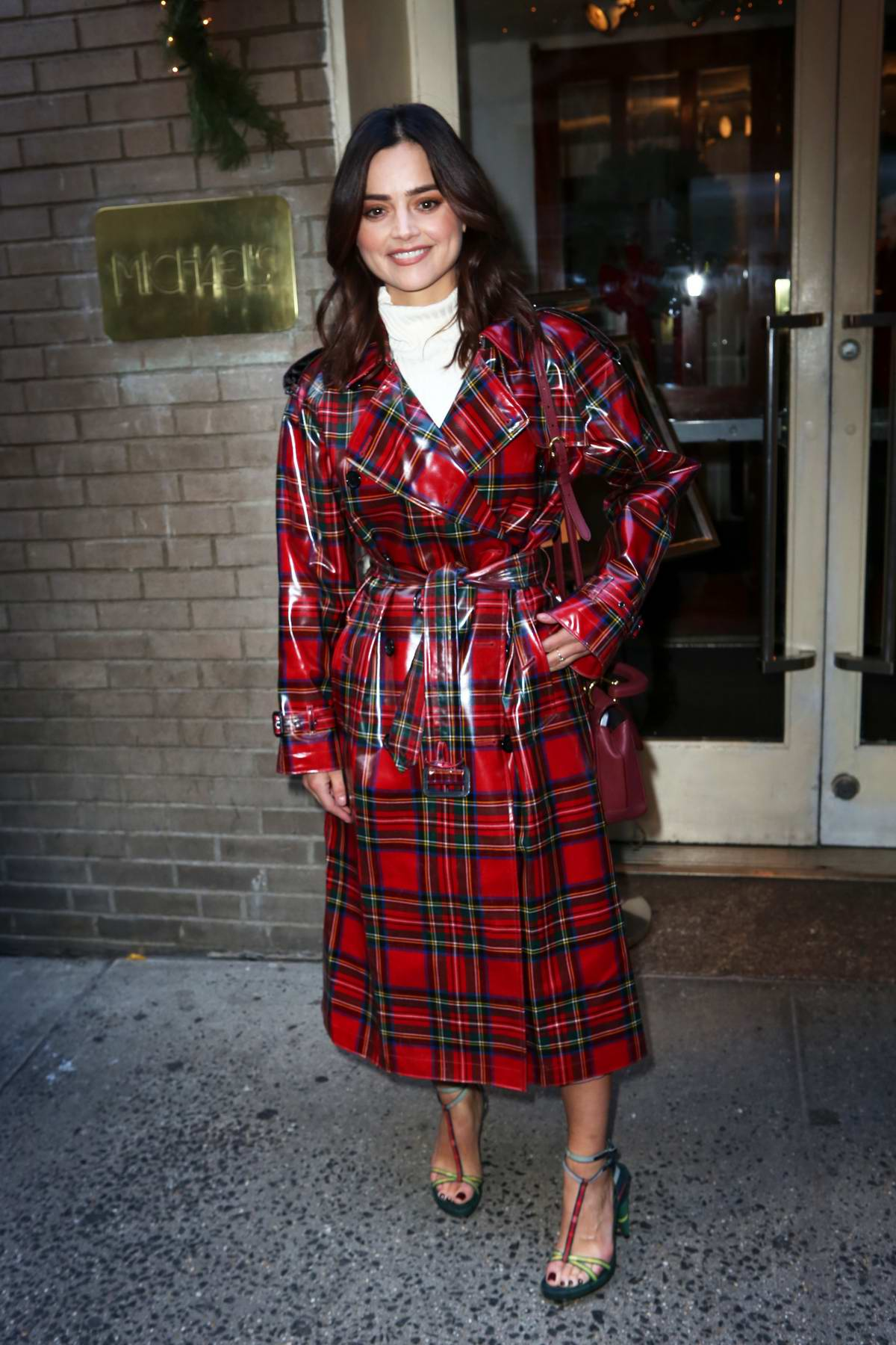 Jenna Coleman at the Cosmo's 100 Most Powerful Women Luncheon in New York City