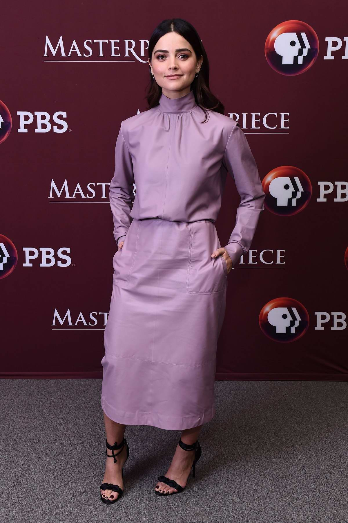 Jenna Coleman attends 'Victoria' Season 2 premiere on Masterpiece on PBS in New York City