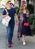 Jessica Alba and husband Cash Warren spotted while strolling around Venice, Los Angeles