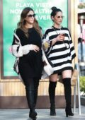 Jessica Alba and Olivia Munn grabs lunch together in Beverly Hills, Los Angeles