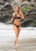 Joanna Krupa in a bikini during a photoshoot in Malibu, California