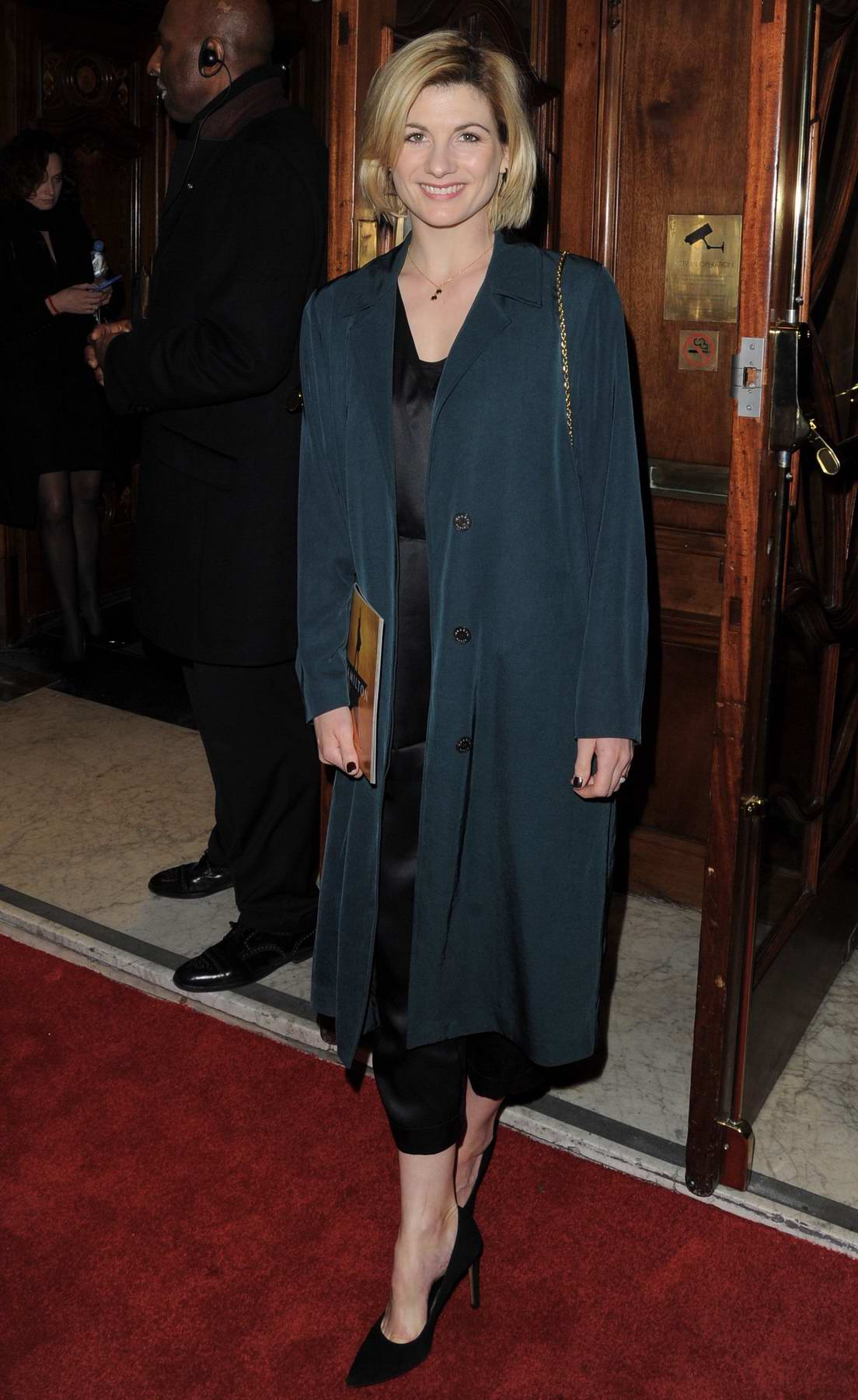 Jodie Whittaker at 'Hamilton' musical, press night in London