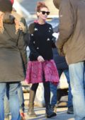 Julia Roberts on set of 'Ben is Back' filming in upstate New York