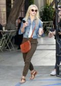 Julianne Hough leaving Nine Zero One salon in West Hollywood, Los Angeles