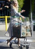 Julianne Hough spotted while shopping groceries with her mother at the Whole Foods in Los Angeles