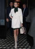 Kate Upton and husband Justin Verlander leaving after dinner at Craigs in Los Angeles