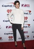 Katie Holmes attends z100's iHeartRadio Jingle Ball at Madison Square Garden in New York