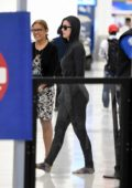 Katy Perry goes incognito in hoodie and leggings, as she makes her way through the security at Miami International Airport, Miami, Florida