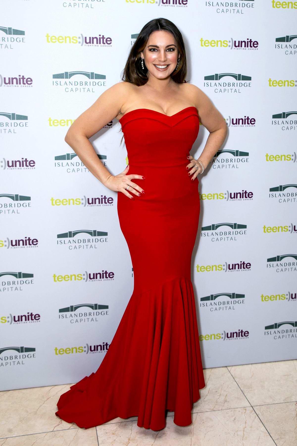 Kelly Brook at Teens Unite - Ten Year Tale Fundraising Gala in London