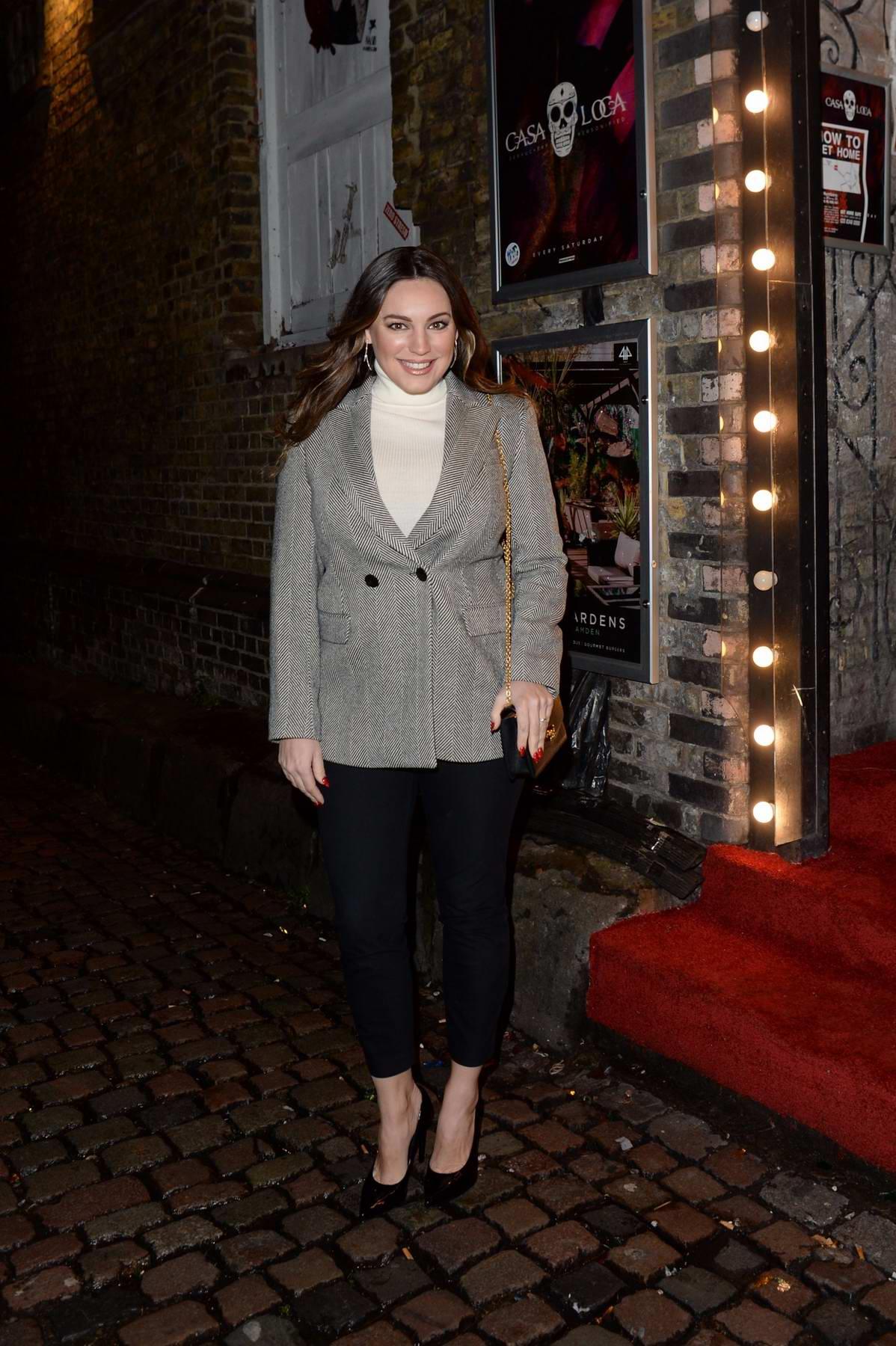 Kelly Brook attends Blue-Green - Secret Gig in London