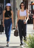 Kendall Jenner and Kaia Gerber out for shopping in Beverly Hills, Los Angeles