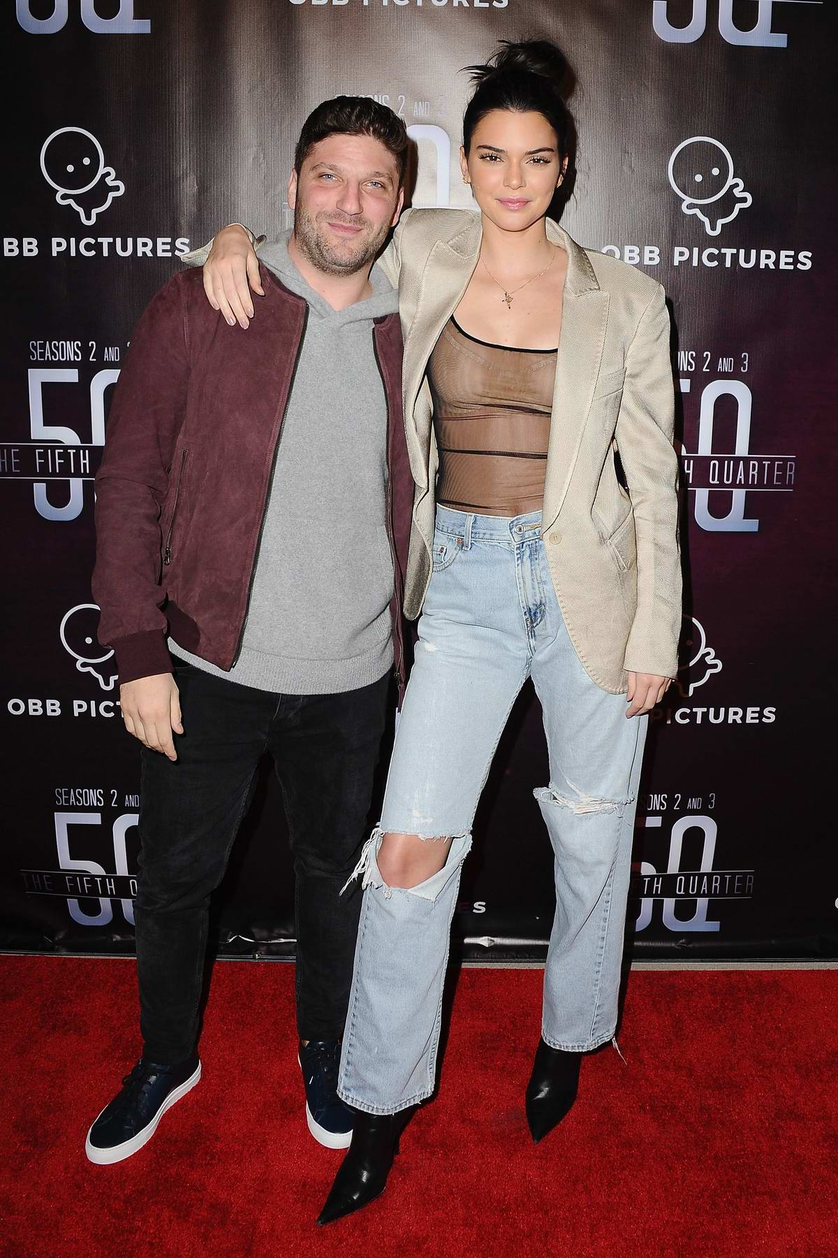 Kendall Jenner at the premiere of 'The 5th Quarter' at United Talent Agency in Beverly Hills, Los Angeles