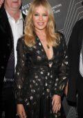 Kylie Minogue attends The Australian Music Vault Launch in Melbourne, Australia