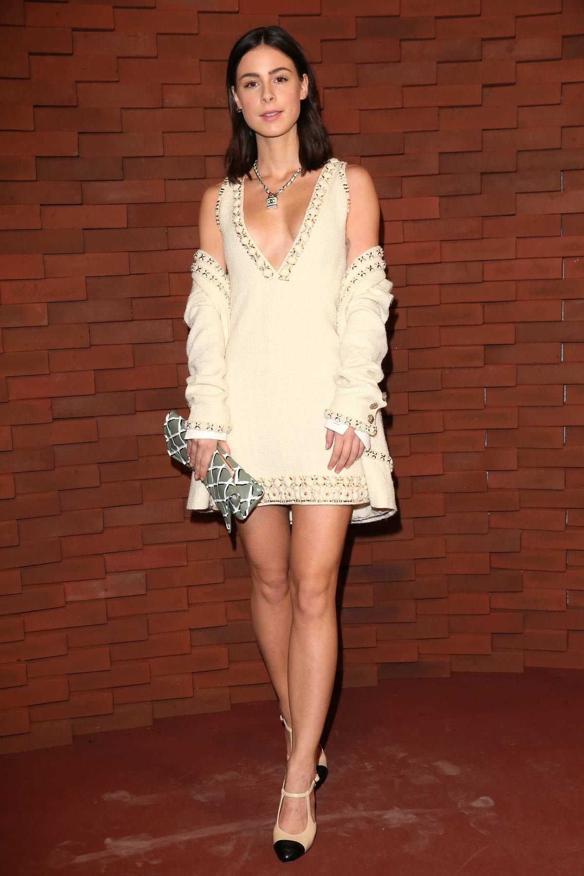Lena Meyer-Landrut at Chanel Metiers d'Art Collection Fashion Show in Hamburg, Germany