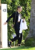 Leonardo DiCaprio and new girlfriend Camila Morrone spotted leaving his home in Los Angeles