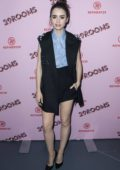 Lily Collins at Refinery29 29Rooms Los Angeles Turn It Into Art at ROW DTLA in Los Angeles