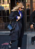 Lily James spotted catching a cab while leaving The Bowery Hotel in New York City