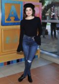 Lucy Hale and Words With Friends 2 spread holiday cheer at children`s hospital in Los Angeles