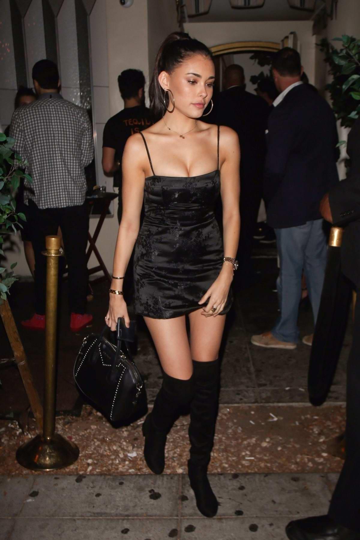 Madison Beer in a blac... Nicole Scherzinger Boyfriend Current