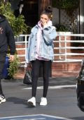 Madison Beer is all smiles while leaving Fred Segal in West Hollywood, Los Angeles