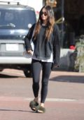 Megan Fox leaving a yoga class in Malibu, California