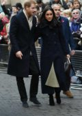 Megan Markle and Prince Harry visit the Nottingham Contemporary for the Terrace Higgins Trust World AIDS Day