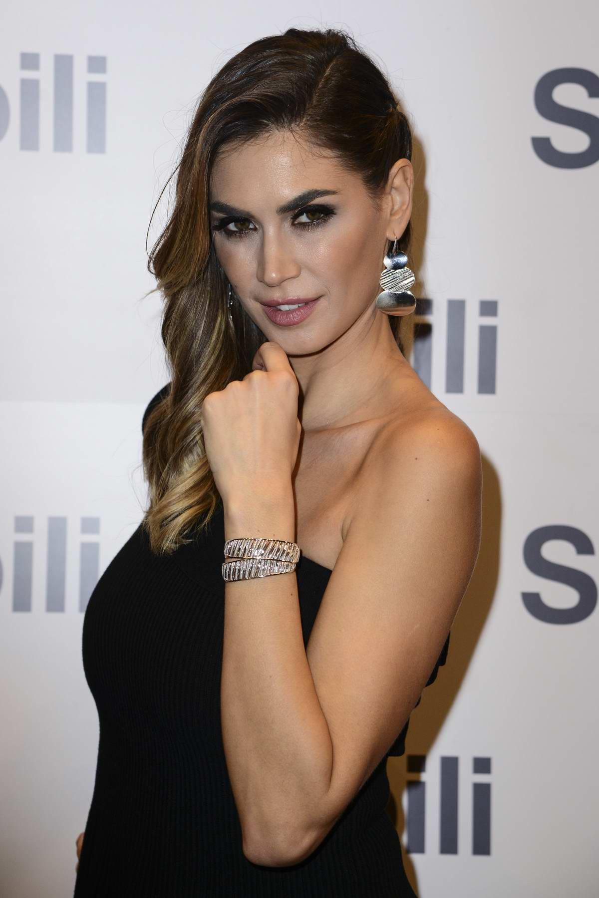 Melissa Satta at Stroili Boutique opening at Citylife Shopping District in Milan, Italy