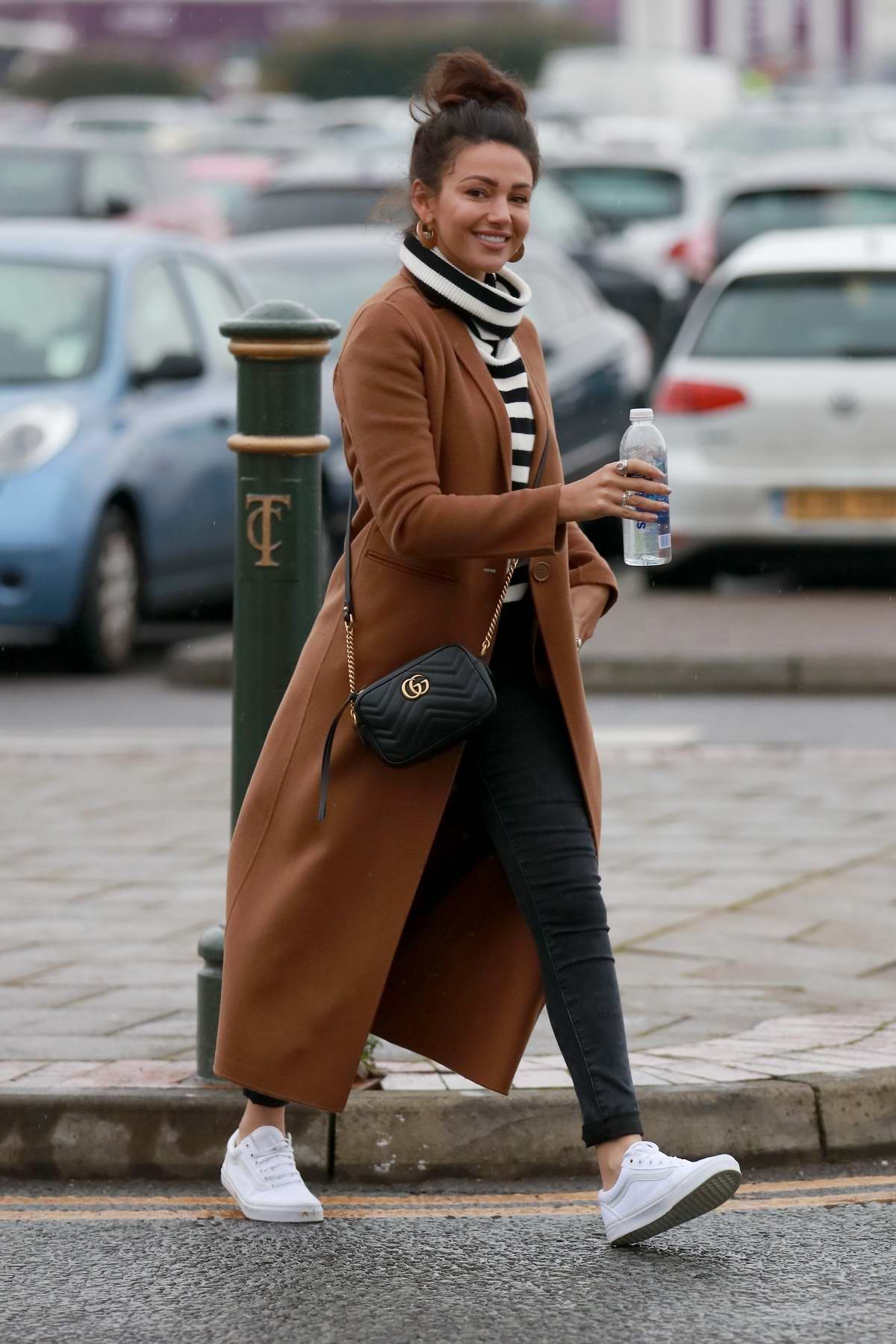 Michelle Keegan spotted out at the Trafford Centre in Manchester, UK