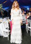 Nina Agdal at the NYBG Winter Wonderland Gala in New York