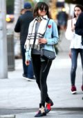 Nina Dobrev is spotted out doing some Christmas shopping in Beverly Hills, Los Angeles