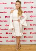 Ola Jordan makes an appearance on Lorraine TV show in London