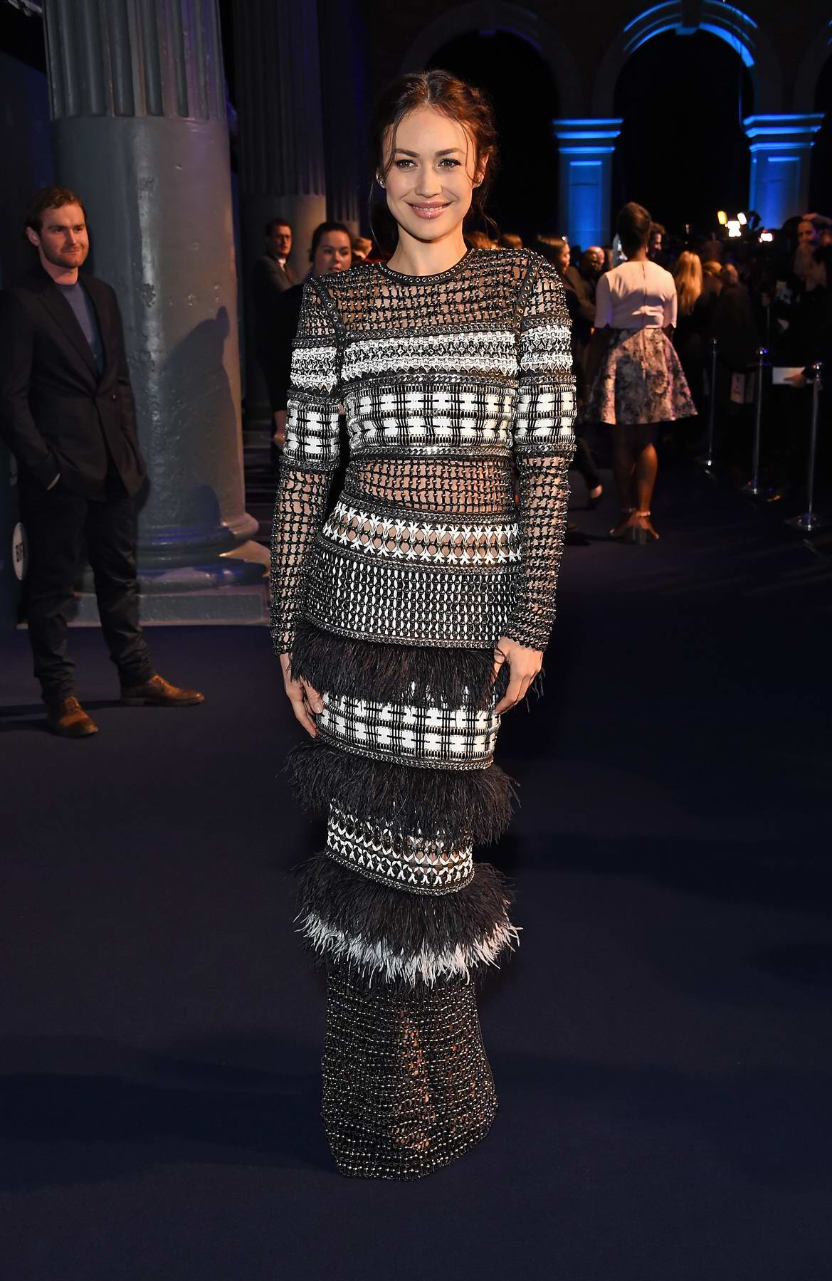 Olga Kurylenko attends British Independent Film Awards in London