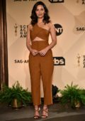 Olivia Munn attends 24th Screen Actors Guild Awards nominations in Los Angeles