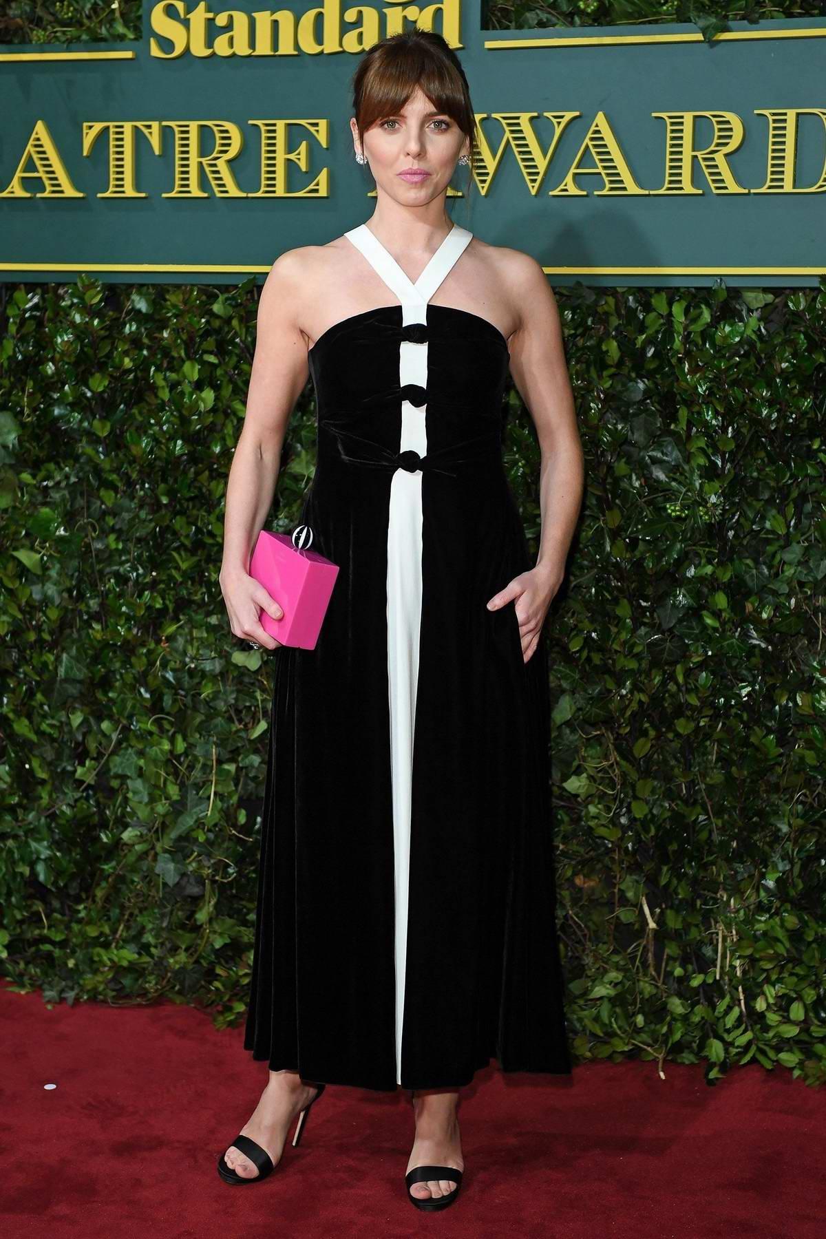 Ophelia Lovibond at the Evening Standard Theatre Awards in London