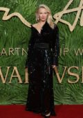 Pamela Anderson at The British Fashion Awards 2017 in partnership with Swarovski held at the Royal Albert Hall in London