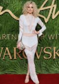 Pixie Lott attends The British Fashion Awards 2017 in partnership with Swarovski held at the Royal Albert Hall in London
