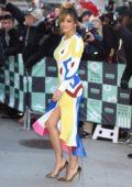 Rita Ora arriving at AOL Build Series in New York City