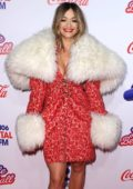 Rita Ora at Capital's Jingle Bell Ball at the O2 Arena in London