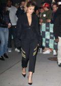 Rita Ora leaves AOL Build Series in New York City